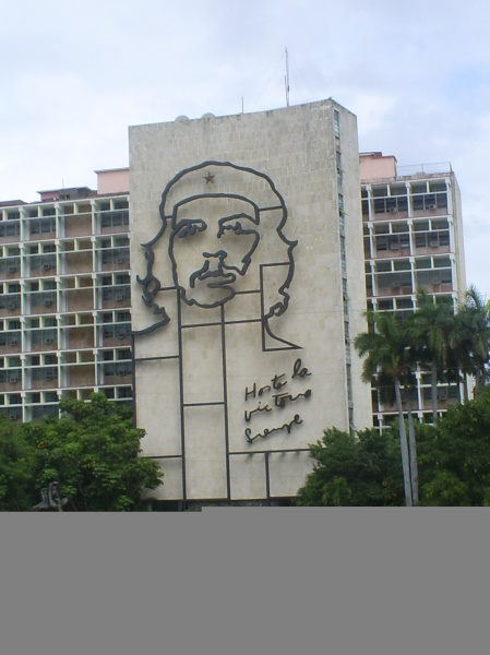 Che silhouette at Plaza de la Revolucion