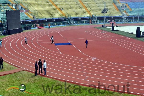 Mainbowl, Teslim Balogun Stadium, venue of the Eko Games 2012