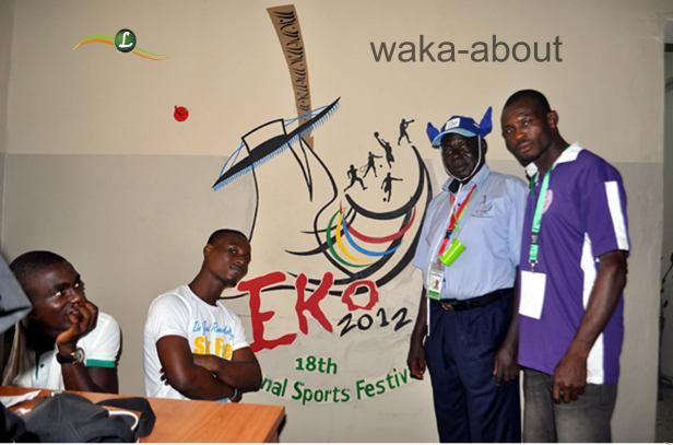 Eko Games 2012 Logo inside the LOC Secretariat