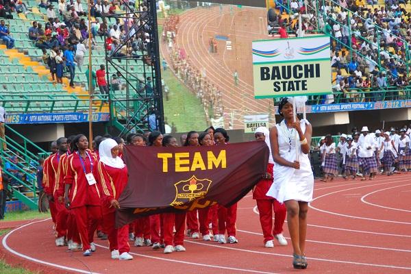 Bauchi State Contigent at the Eko 2012 Games
