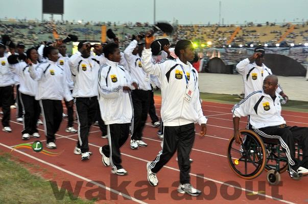 Enugu State Contigent At the Eko 2012 Games