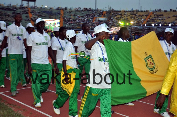 Kaduna State Contigent at the Eko 2012 Games