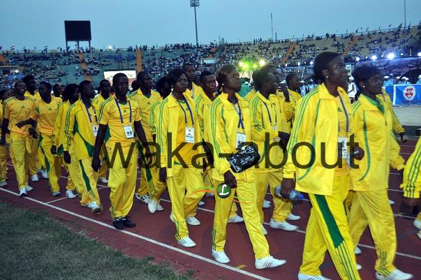 Ogun State Contigent At the Eko 2012 Games