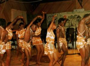 Crown Troupe of Africa in performance