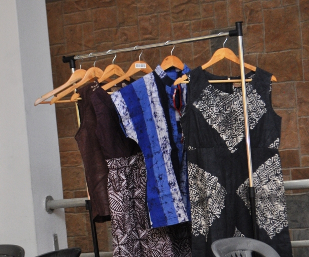 A collection of the dresses from Vogo Designs