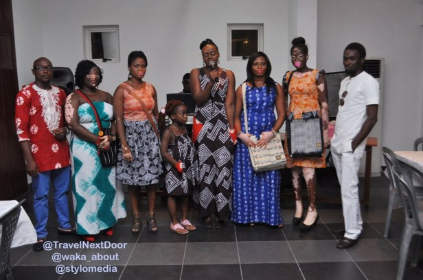 Ogo Maduewesi and the models for Vogo Designs