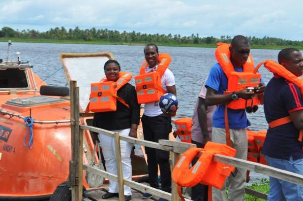 1. Take a boat cruise on the Badagry lagoon
