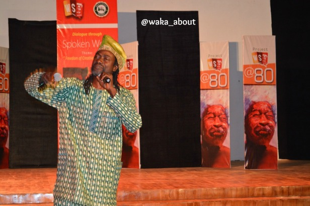AJ Dagga Tolla performing in Abeokuta for WS80