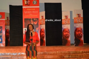 Titilope Sonuga performing in Abeokuta for WS80
