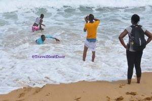 2. Take a splash in the ocean waters