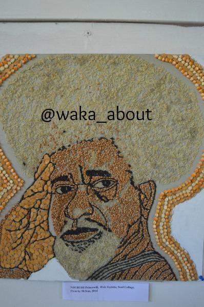 Soyinka (Seed Collage)