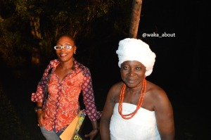 For as long as anyone will remember #WS80 celebrations in Abeokuta, there will always be reference made to the spooky evening trek through the 'Ijegba' forest and the haunting yet pleasant 80 old women at the 'gates'