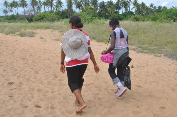 4. Take a leisurely stroll on the beach sands