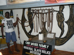 slave chains preserved from the 15th century and housed in a family-owned museum is one of the reasons tourists flock to Badagry
