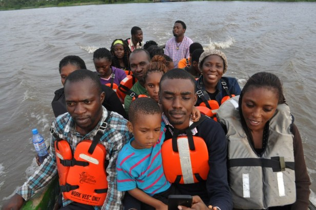 One of the most thrilling moments for tourists in Badagry is the boat ride across the Lagoon. The boats help the community generate regular revenue