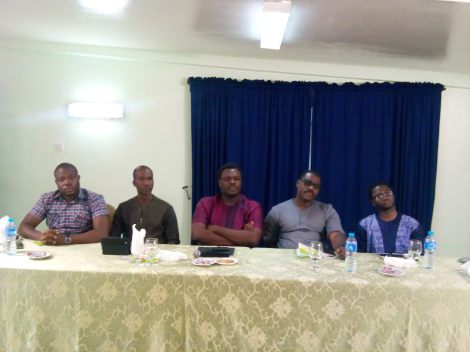 The Second Panel at 'The Business of Writing' hosted by the New Lagos Book Club.