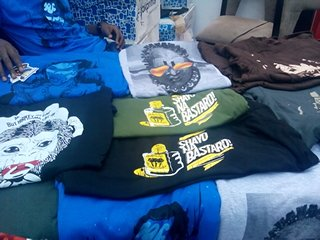 T-shirts by local outfit OurOwnArea (www.ourownarea.com)