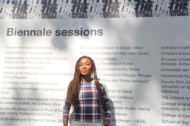 Blogger Bukola Oye (@tsalovesart) live in Venice
