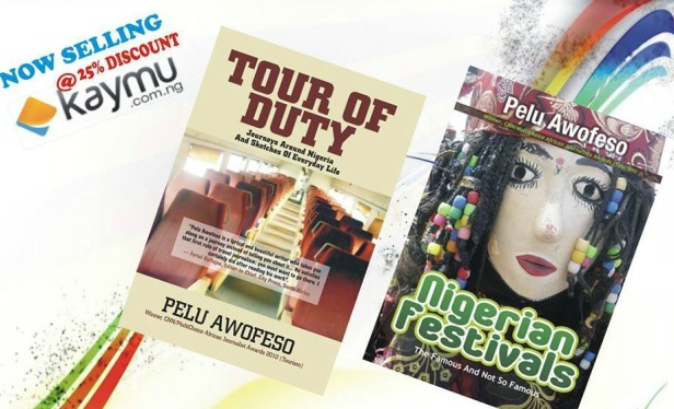 Pelu Awofeso's travel books on his travels in Nigeria on sale online at kaymu. Order your copies to read more interesting stories. (deliveries only in Nigeria)