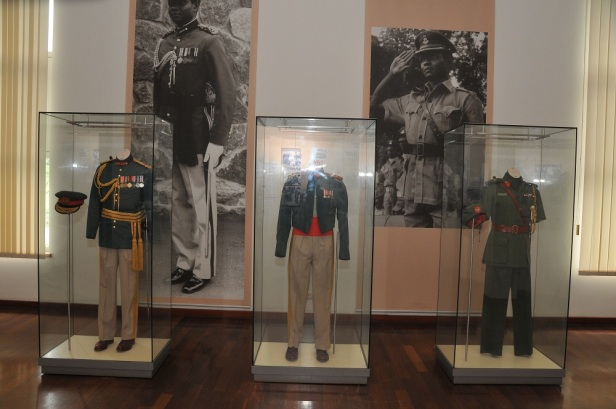 Yar'Adua's uniforms