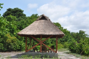 one of many Gazebos in the Family Park.